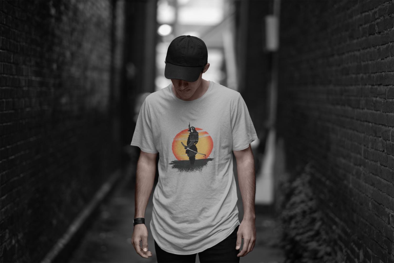 Samurai Sun T-Shirt