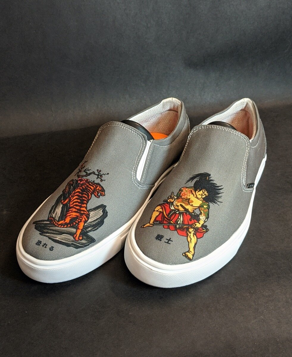 Samurai Canvas Shoes