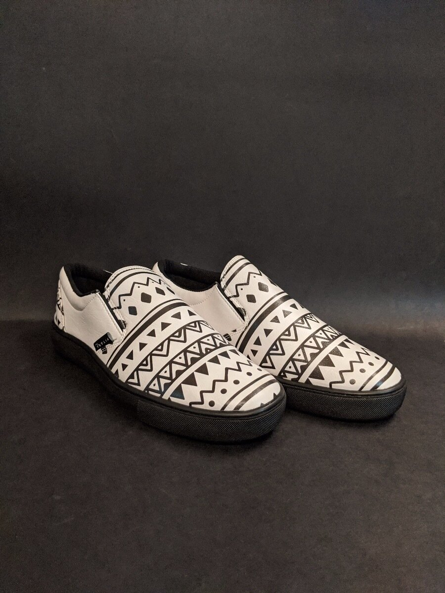 Tribal Slip Ons Printed Shoes