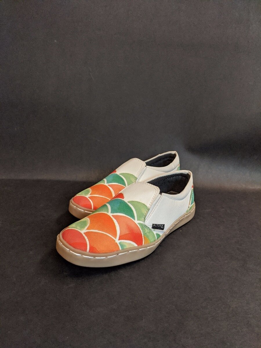 Pulpy Punch Printed Shoes