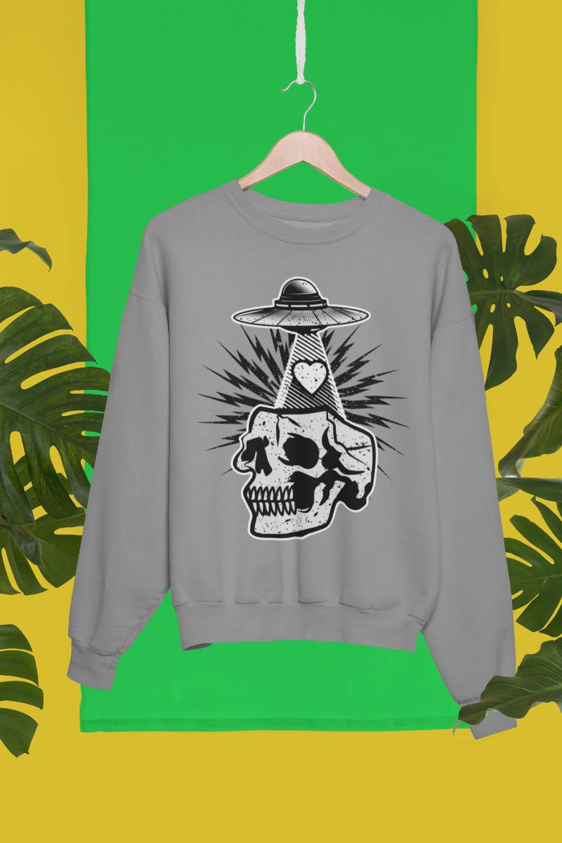 Enlightened Skull Sweatshirt