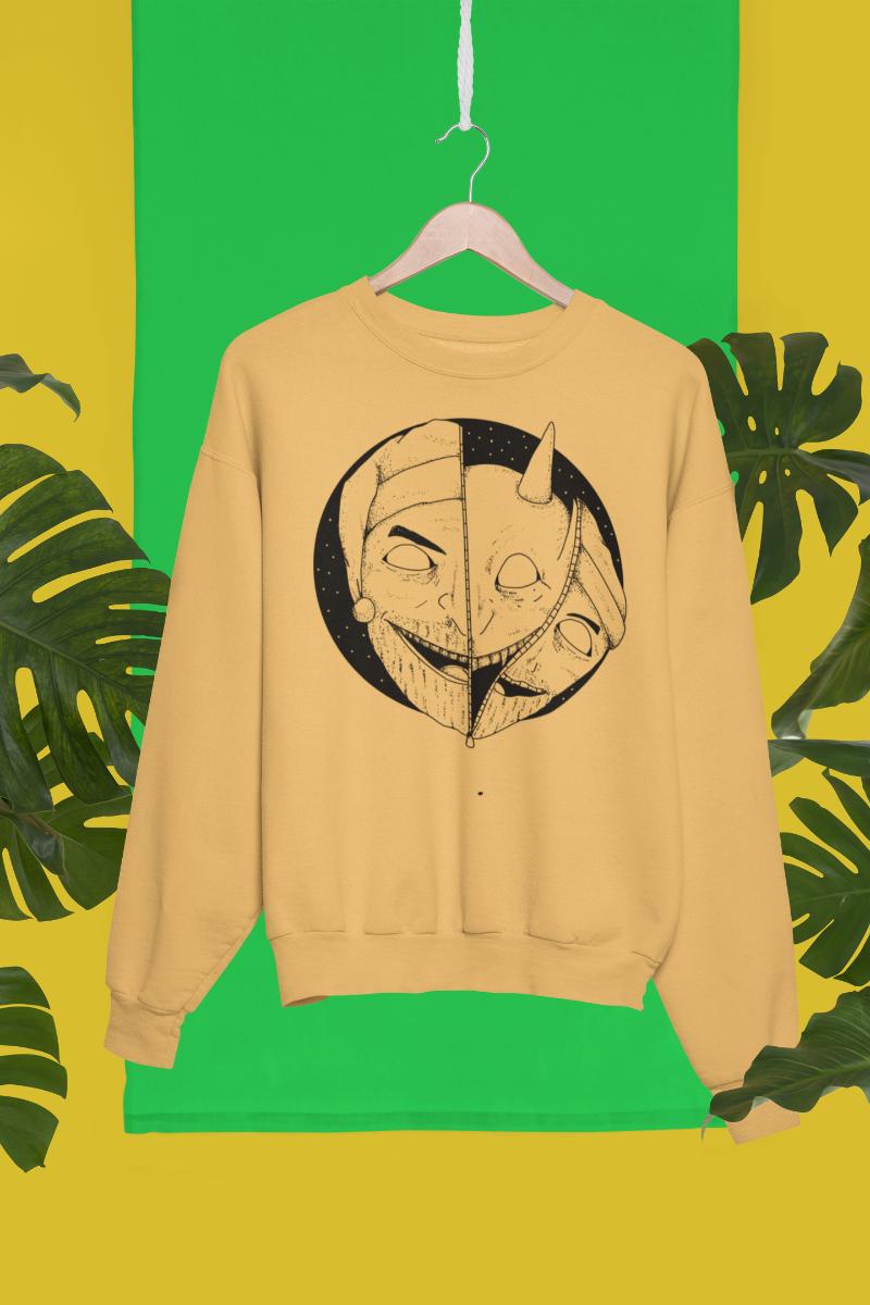 Unzip Satan Sweatshirt