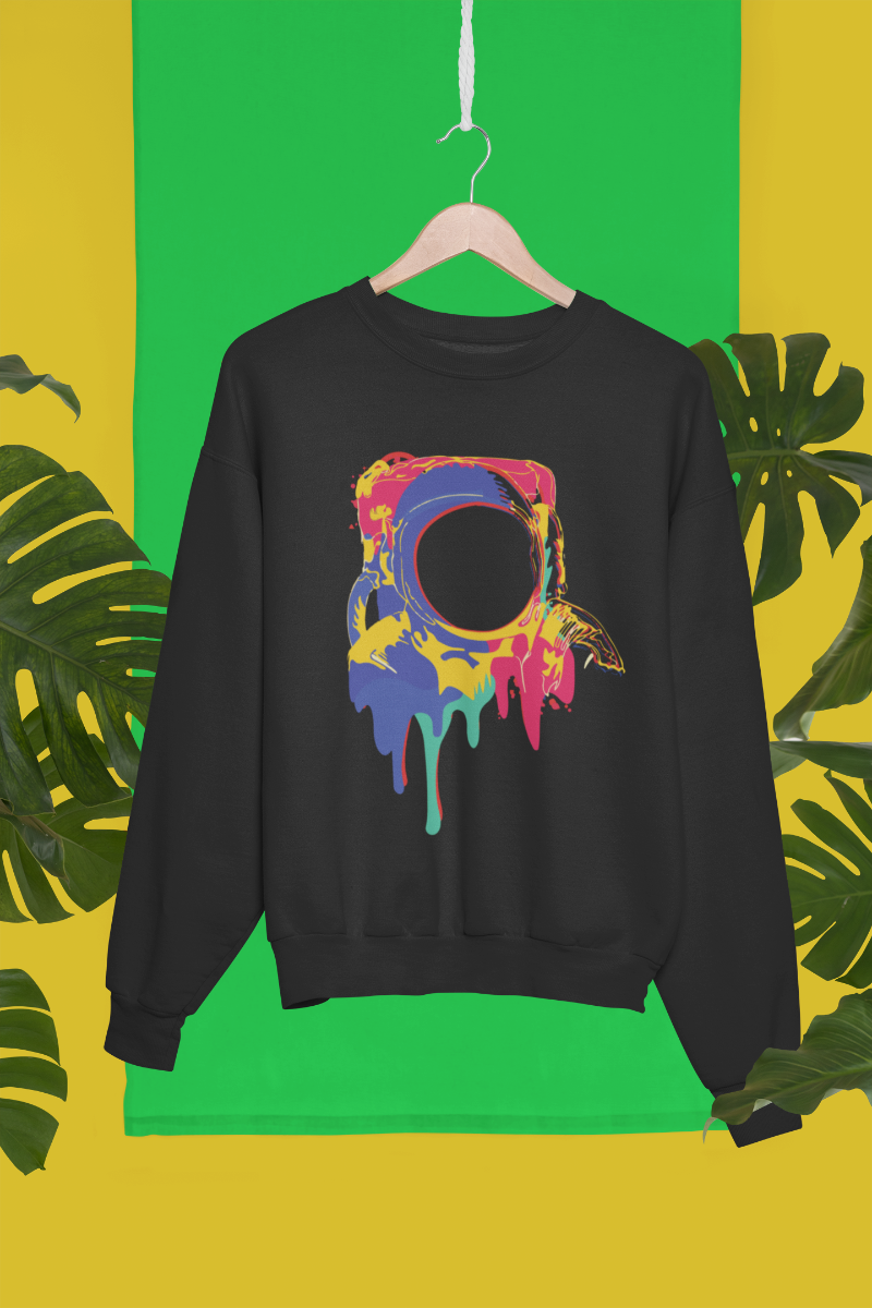 Color Bleed Sweatshirt