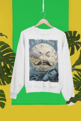 Trip to moon Sweatshirt