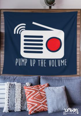 Pump Up the Volume Flag