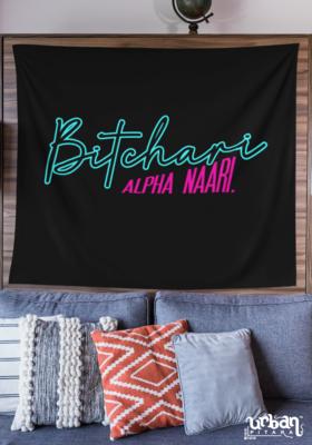Bitchaari Alpha Naari Flag