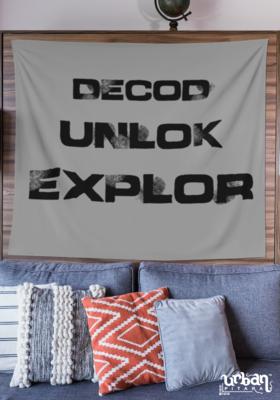Decod Unlok Explor Flag