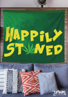 Happlily Stoned Flag