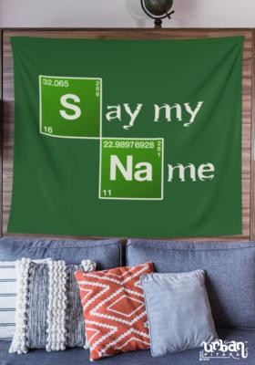 Say My Name Flag