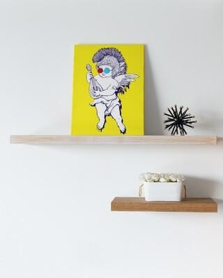 3D Cupid Canvas
