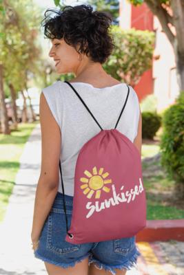 Sunkissed Drawstring Bag