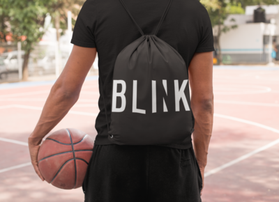Blink Drawstring Bag