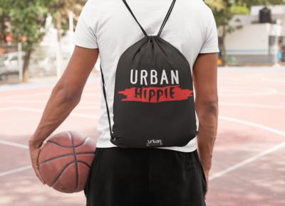 Urban Hippie Drawstring Bag