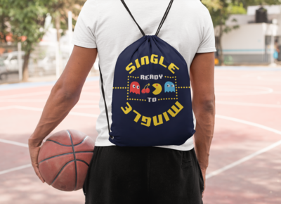 Single Mingle Drawstring Bag