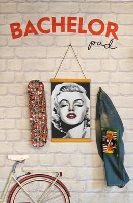 Marilyn Monroe Clip Canvas