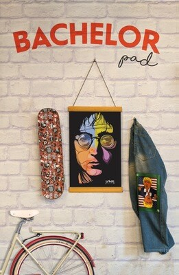 John Lennon Clip Canvas