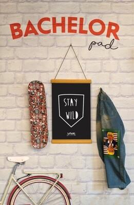 Stay Wild Clip Canvas