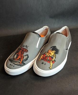 Samurai Canvas Shoes