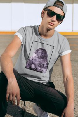 Astro Cat Full Printed T-Shirt
