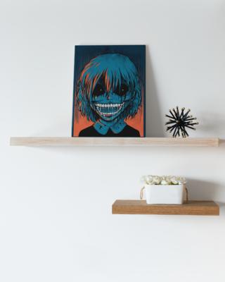 Vampire Chuckle Canvas