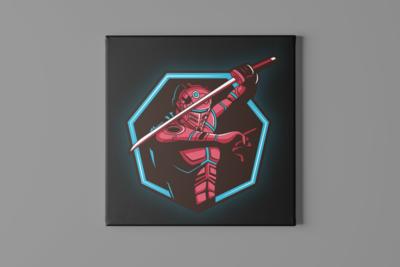 Robo Sword Canvas