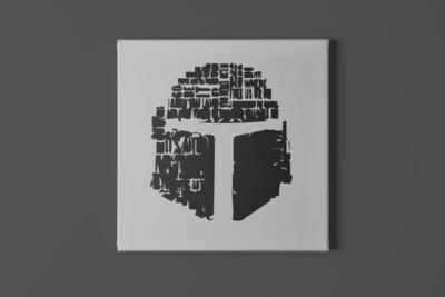 Gladiator Helmet Canvas