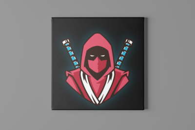 Sword Samurai Canvas