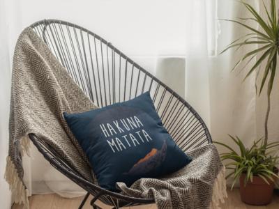 Hakuna Matata Zipper Cushion Cover