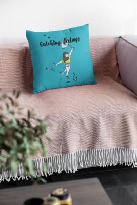 Catching Feelings Zipper Cushion Cover
