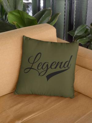 Legend Zipper Cushion Cover