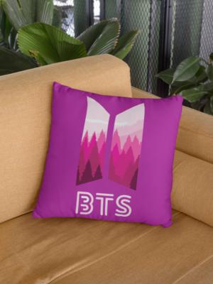 BTS Zipper Cushion Cover