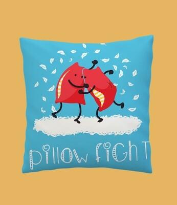 Pillow Fight Zipper Cushion Cover