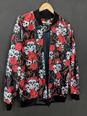 Skull Roses Women's Bomber Jacket