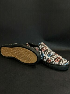 Cassette Printed Shoes