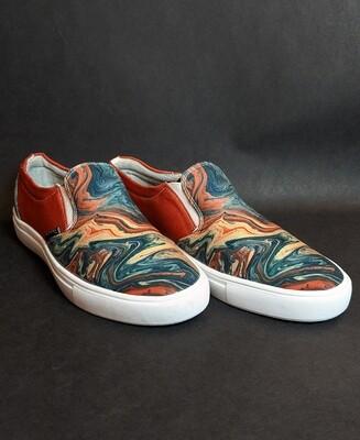 Saturn Canvas Shoes