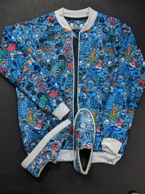 Urban Funk Bomber Jacket and Shoes Combo