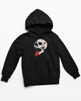 Trippy Skull Hoodie