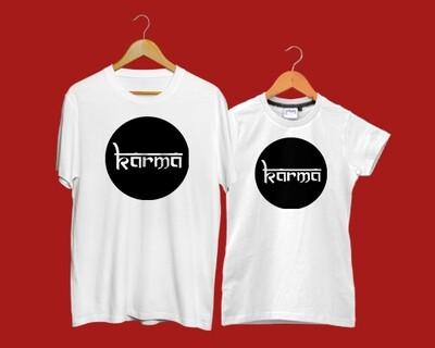 KARMA Couple Tshirt