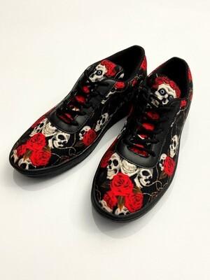 Skull Roses Canvas