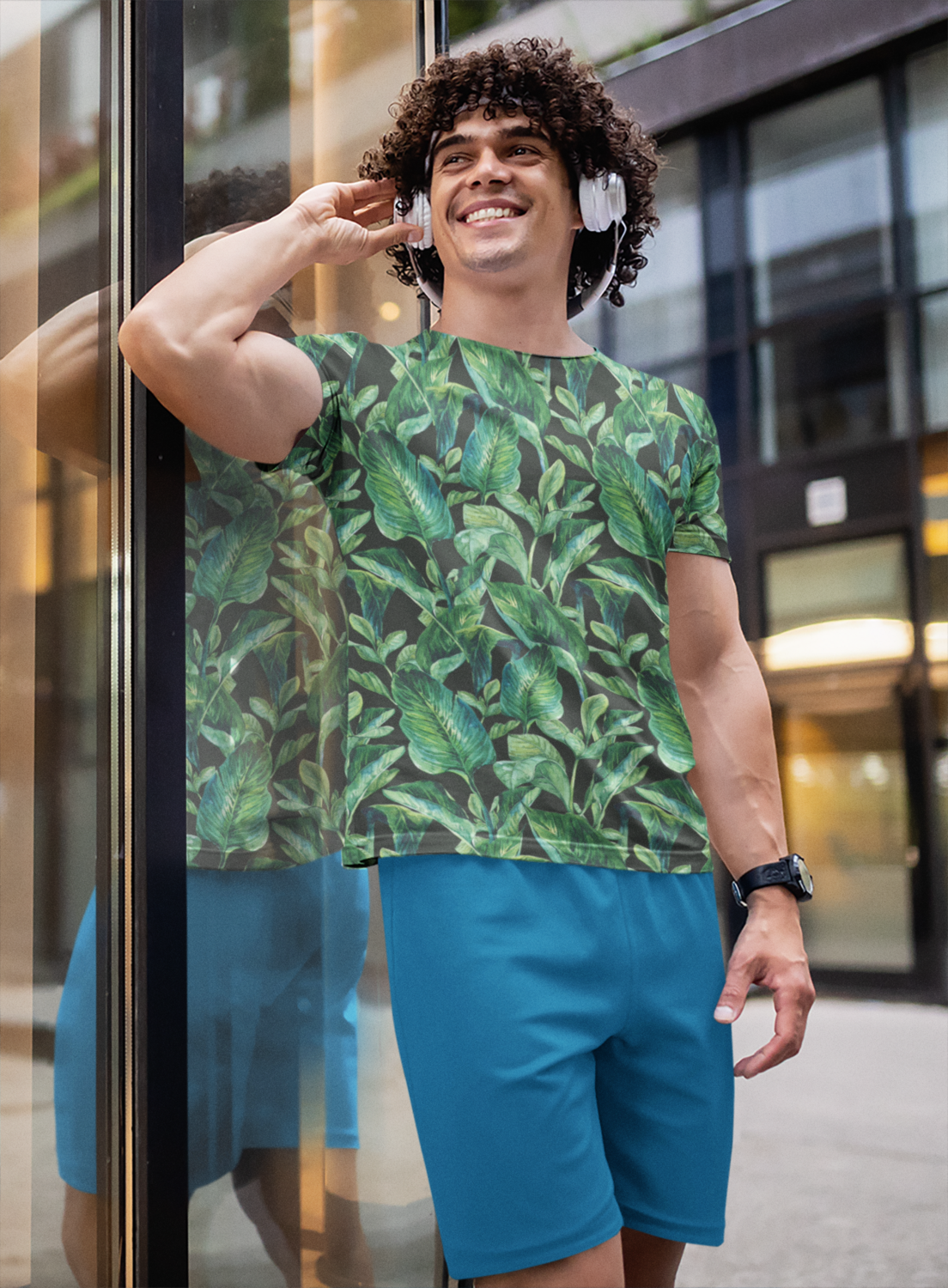 Forest Full Printed T-Shirt