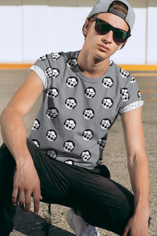 Alien Trio Full Printed T-Shirt