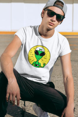 OLA Alien  Full Printed T-Shirt