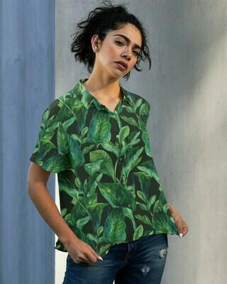 Forest Buttoned Shirt