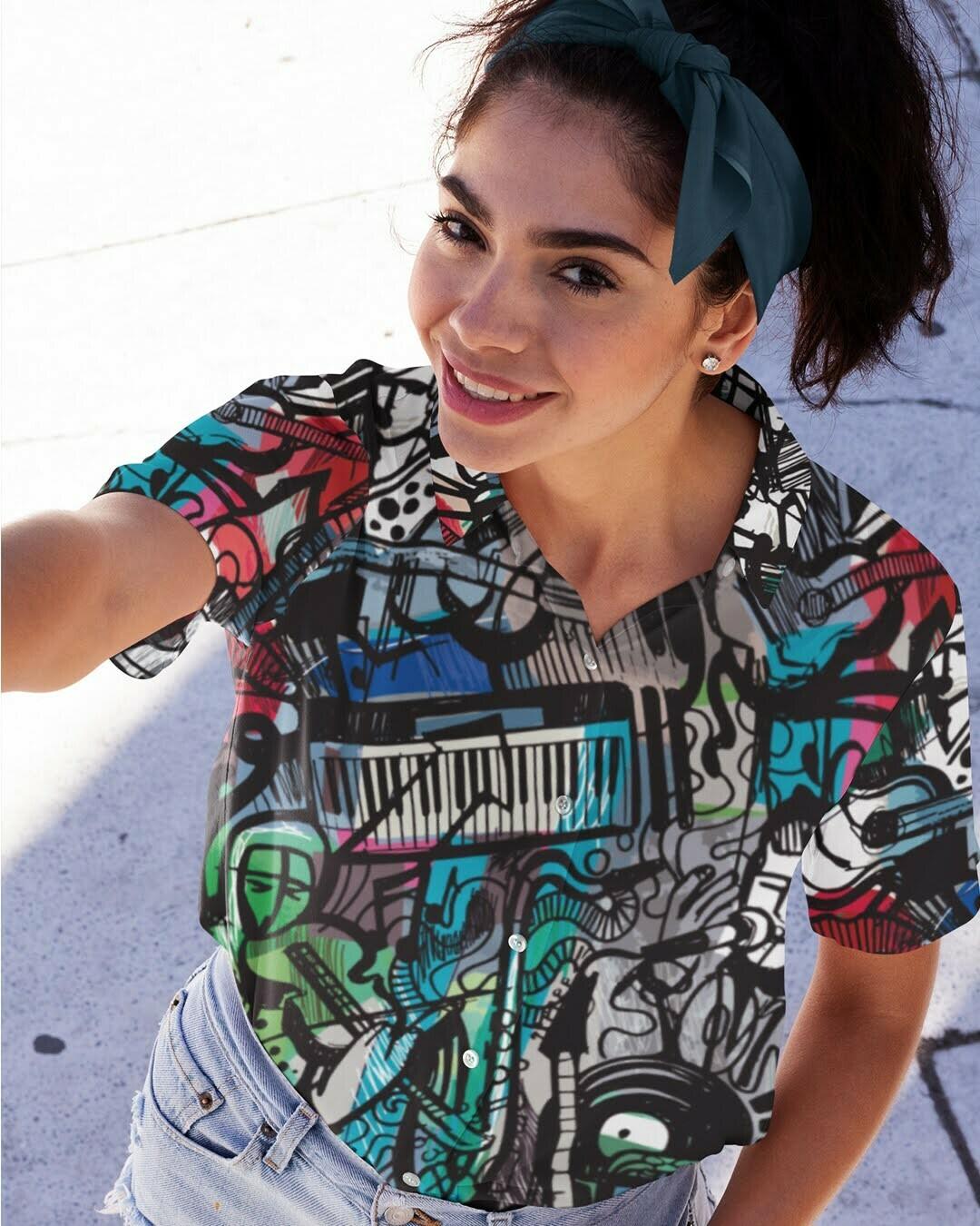 Soul Music Buttoned Shirt