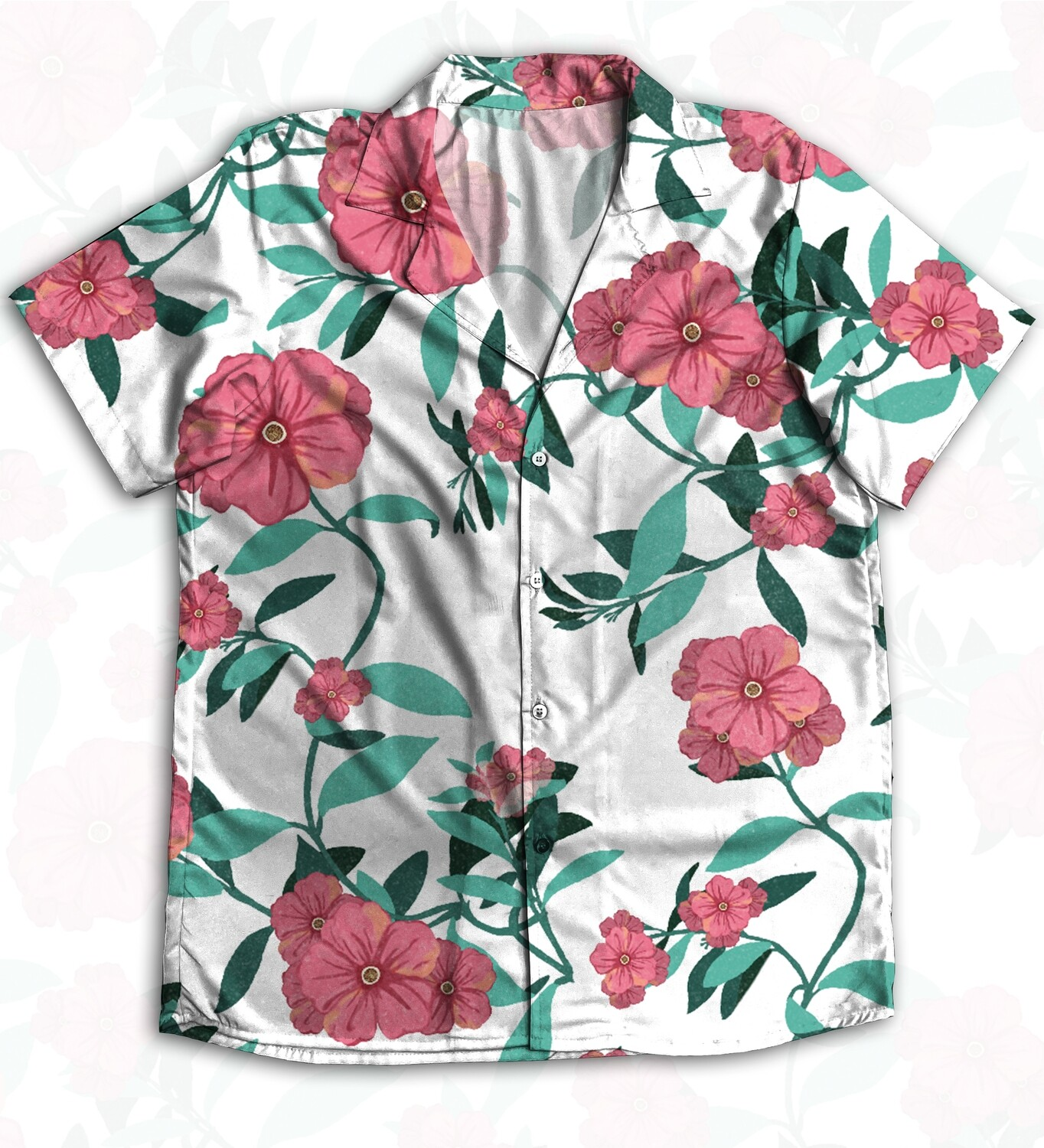 Floral Buttoned Shirt