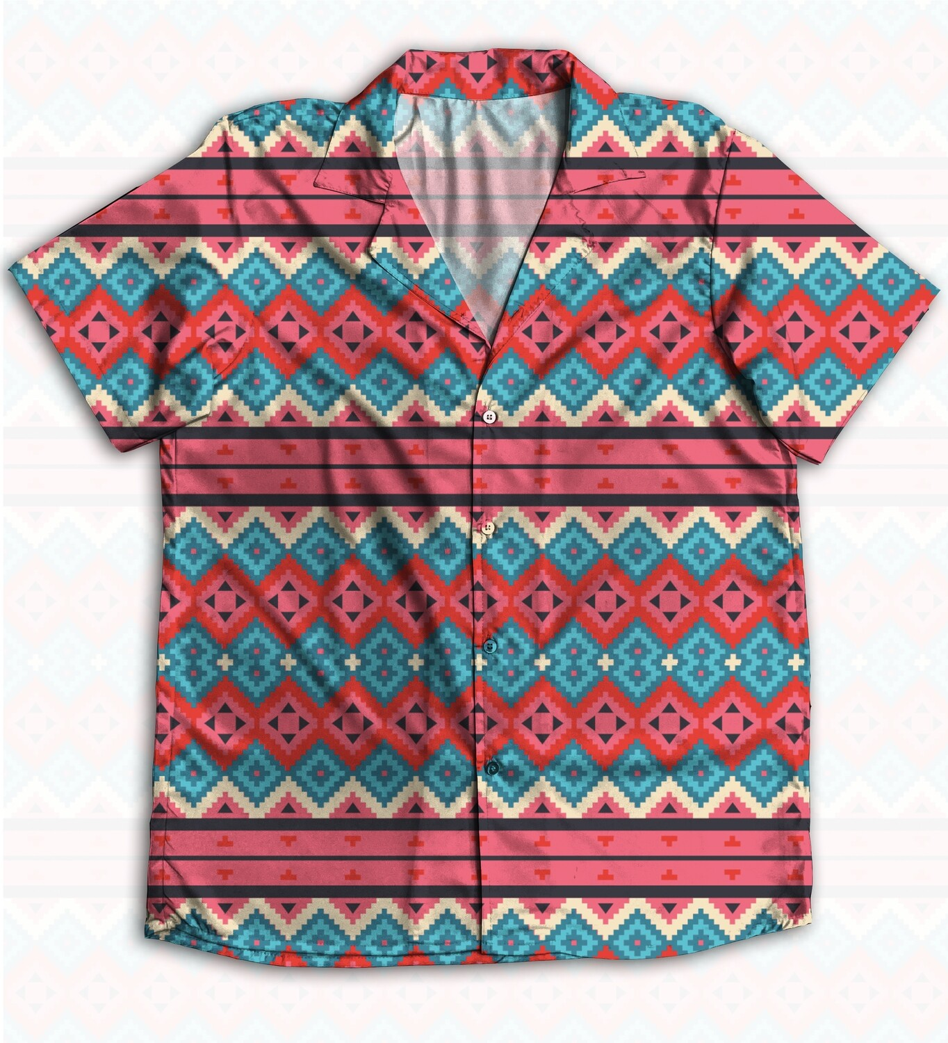 Ethnic Buttoned Shirt