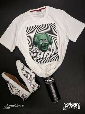 Highnstien t-shirt and shoes Combo