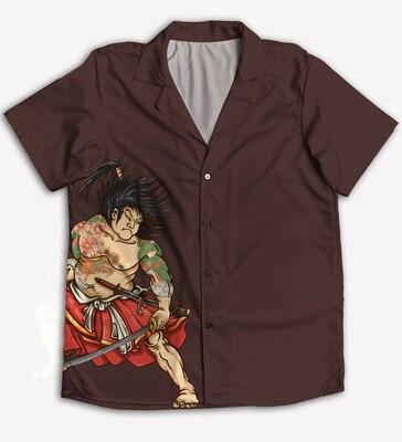 Samurai Buttoned Shirt