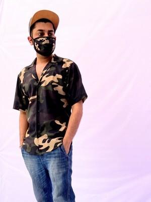 Camo Buttoned Shirt