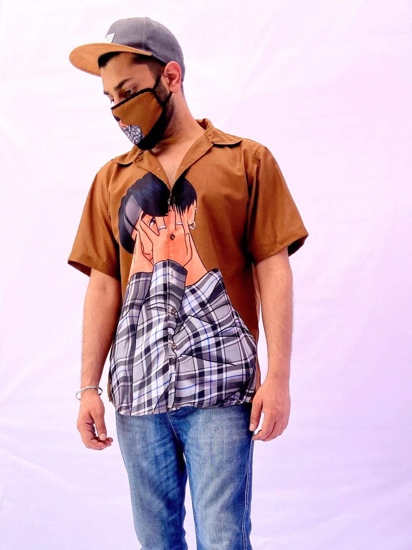 K Drama Buttoned Shirt